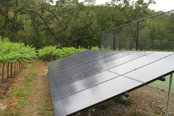 residential solar ground mount