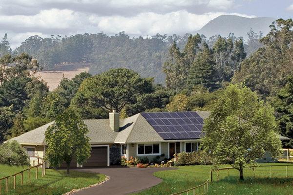 residential solar roof mount
