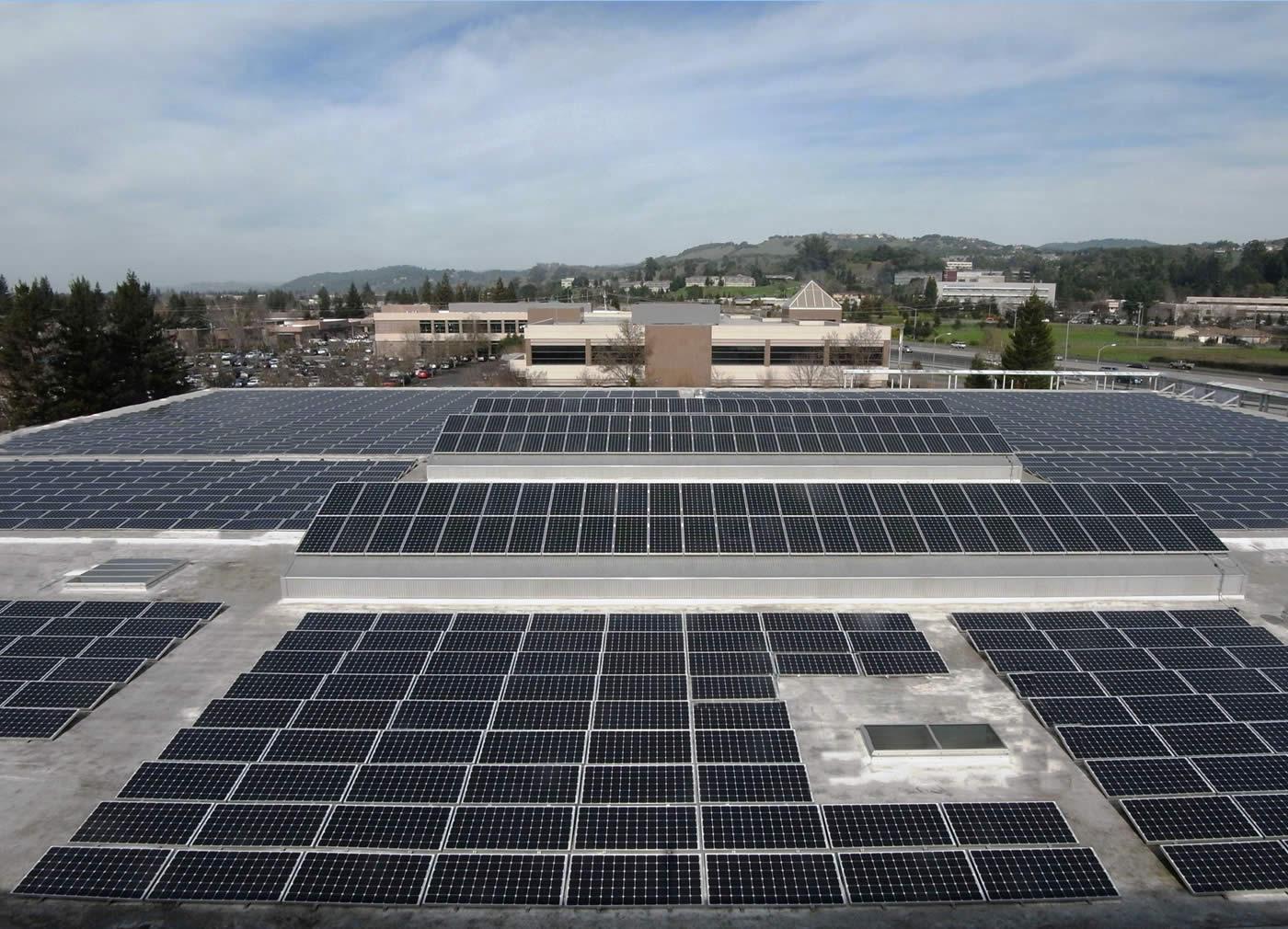 SolarCraft Installs Solar at Redwood Credit Union